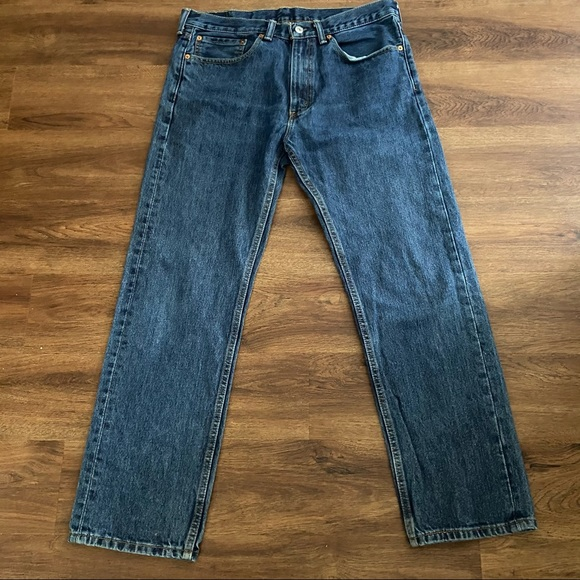 Classic Levi's 505 Red Tag Jeans Size W34 L30